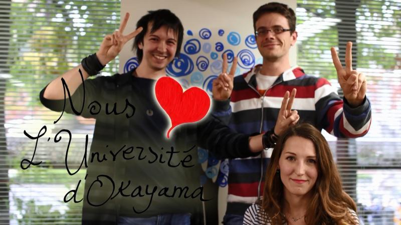 We love OKAYAMA UNIVERSITY